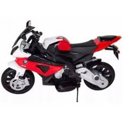MOTO BMW CYCLE ROJA 12V -...