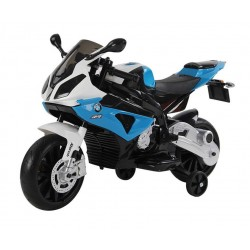 MOTO BMW CYCLE AZUL 12V -...